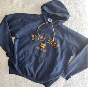 Vintage NCAA Notre Dame Fighting Irish Hoodie